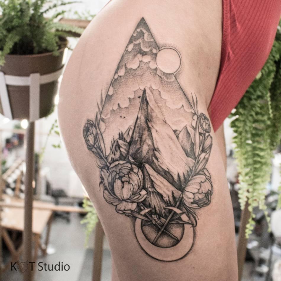 фотографии студия Kot Tattoo Studio метро тульская г москва